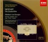 MOZART - Karajan - Die Zauberflöte (La flûte enchantée), opéra en deux a