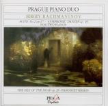 RACHMANINOV - Prague Piano Du - Suite pour deux pianos n°2 op.17 Versions pour 2 pianos