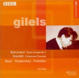 SCARLATTI - Gilels - Sonate pour clavier en ré mineur K.141 L.422