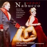 VERDI - Oren - Nabucco, opéra en quatre actes