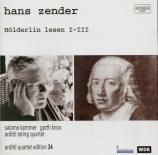 Hölderlin Lesen I-III