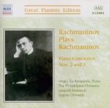 RACHMANINOV - Rachmaninov - Concerto pour piano n°2 en ut mineur op.18