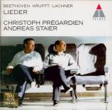 LACHNER - Prégardien - Sängerfahrt op.33