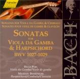 BACH - Perl - Sonates pour viole de gambe et clavier BWV 1027-1029 Vol.124