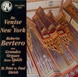 De Venise à New York (gds orgues Hans Spath de Zurich)