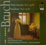 BRUCH - Krecher - Concerto pour violon n°3 op.58