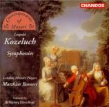 KOZELUCH - Bamert - Symphonie en ré majeur