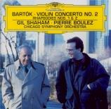 BARTOK - Shaham - Concerto pour violon n°2 Sz.112 BB.117