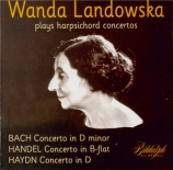 Wanda Landowska Plays Harpsichord Concertos