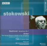 BRITTEN - Stokowski - The young person's guide to the orchestra, pour (n