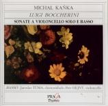 BOCCHERINI - Kanka - Sonate pour violoncelle solo et basse continue n°6