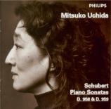SCHUBERT - Uchida - Sonate pour piano en do mineur D.958
