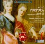 PORPORA - Guglielmo - Douze sonates pour violon et basse continue (1754)