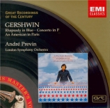 GERSHWIN - Previn - Rhapsody in blue