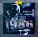Horowitz à Moscou (1986)