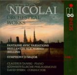 NICOLAI - Stern - Fantaisie avec variations brillantes sur 'Norma' op.25