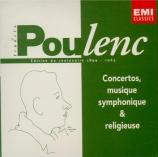 Concertos, musique symphonique & religieuse