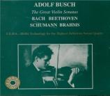 The Great Violin Sonatas