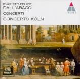 DALL'ABACO - Concerto Köln - Concerti a quattro da chiesa op.2 : extrait