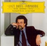 LISZT - Sinopoli - Dante symphonie, pour orchestre S.109