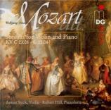 MOZART - Steck - Sonate pour violon et piano n°11 en fa majeur K.55 (K6