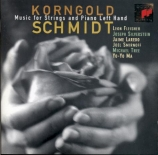 KORNGOLD - Fleisher - Suite pour deux violons, violoncelle et piano (mai