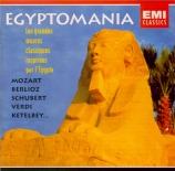 Egyptomania Les grandes oeuvres classiques inspirées par l'Egypte