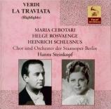 VERDI - Steinkopf - Traviata (La) : extraits (En allemand) En allemand