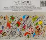 Paul Sacher und die Neue Musik