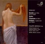 DEBUSSY - Bernold - Sonate en trio pour flûte, alto et harpe en fa majeu