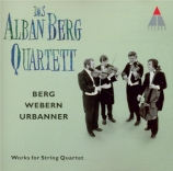 BERG - Alban Berg Quar - Quatuor à cordes op.3