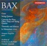 BAX - Fingerhut - Octuor pour cor, piano, deux violons, deux altos, viol