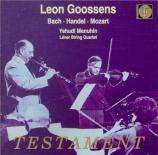 MOZART - Goossens - Concerto pour hautbois et orchestre en do majeur K.3