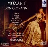 MOZART - Malgoire - Don Giovanni (Don Juan), dramma giocoso en deux acte
