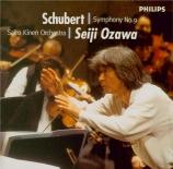 SCHUBERT - Ozawa - Symphonie n°9 en do majeur D.944 'Grande'