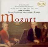 MOZART - Schröder - Concerto pour violon et orchestre n°1 en si bémol ma