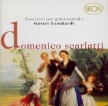 SCARLATTI - Leonhardt - Sonate pour clavier en fa mineur K.185 L.173
