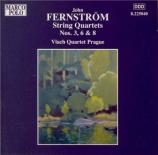 FERNSTRÖM - Vlach Quartet - Quatuor à cordes n°3 op.23