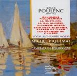 POULENC - Piquemal - Le bal masqué, cantate profane pour voix et orchest