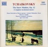 TCHAIKOVSKY - Golovchin - Snegourotchka (La Fille des neiges), pour orch