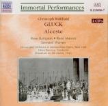 GLUCK - Panizza - Alceste (Live MET 8 - 3 - 1941) Live MET 8 - 3 - 1941