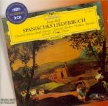 WOLF - Schwarzkopf - Spanisches Liederbuch, cycle de mélodies pour voix