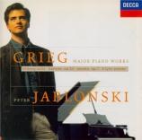 GRIEG - Jablonski - Sonate pour piano op.7