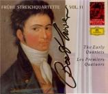 Les premiers quatuors Complete Beethoven Edition Vol.11