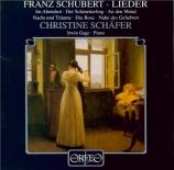 SCHUBERT - Schäfer - Im Frühling (Schulze), lied pour voix et piano op.1