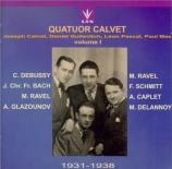 Quatuor Calvet Vol.1