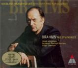 BRAHMS - Harnoncourt - Symphonies (intégrale)