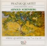 SCHOENBERG - Prazak Quartet - Quatuor à cordes n°1 op.7