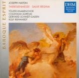 HAYDN - Schmidt-Gaden - Theresienmesse, pour solistes, chœur mixte, orch