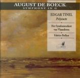 DE BOECK - Bollon - Symphonie en sol